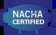 NACHA Certified